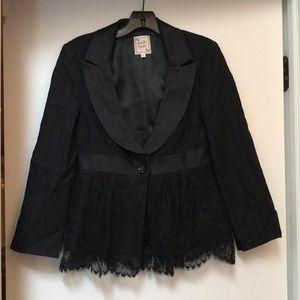 Nanette Lepore black suit jacket/blazer  size 6